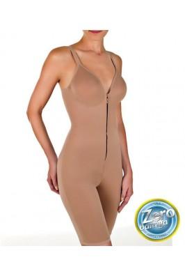 BODY MODELADOR COM PERNAS DILADY ZIP ZERO 306502  - loja / Chocolate com Pimenta.