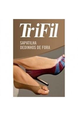 SAPATILHA DEDOS DE FORA TRIFIL 6079  - loja / Chocolate com Pimenta.